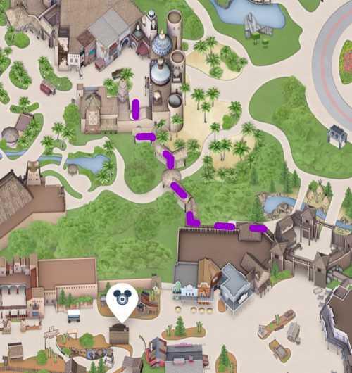 Disneyland Paris Tipps Schleichweg Adventureland