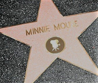 Ein Stern für Minnie Mouse