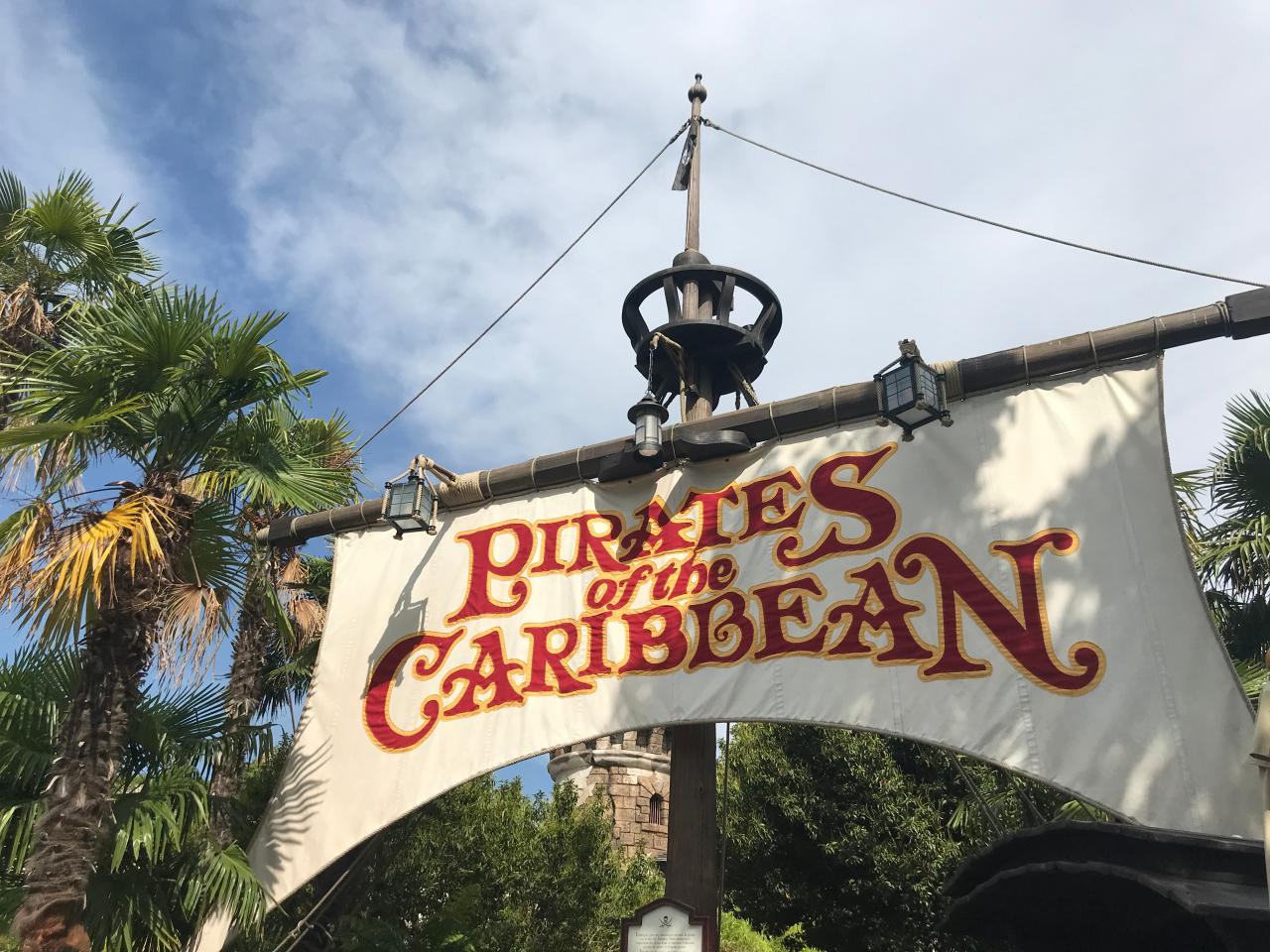 Pirates of the Caribbean - Disneyland Paris im Juli 2018