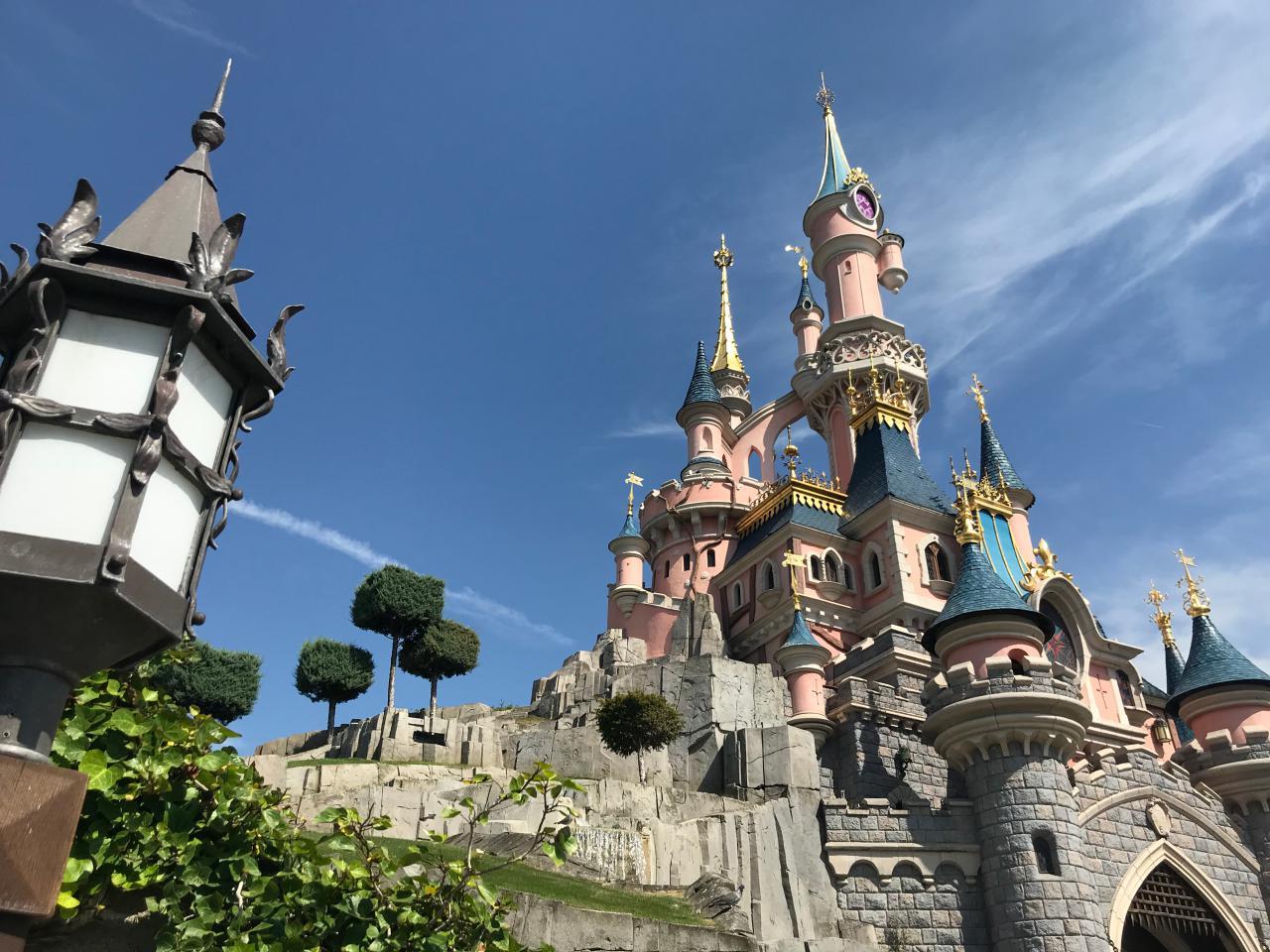 Schloss - Disneyland Paris im Juli 2018