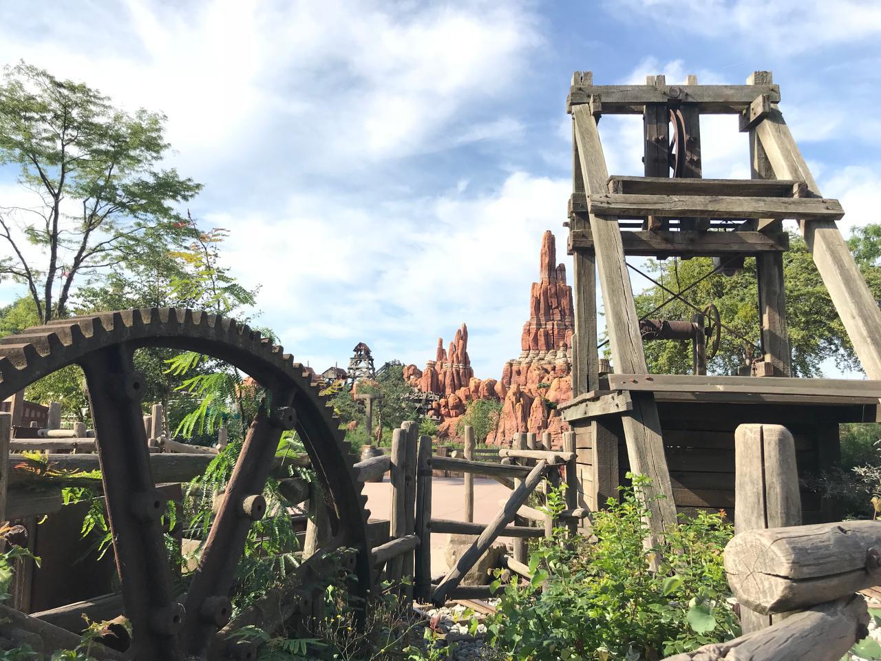 Frontierland Disneyland Paris im Juli 2018