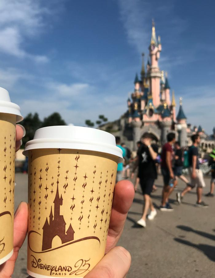 Kaffeepause Disneyland Paris