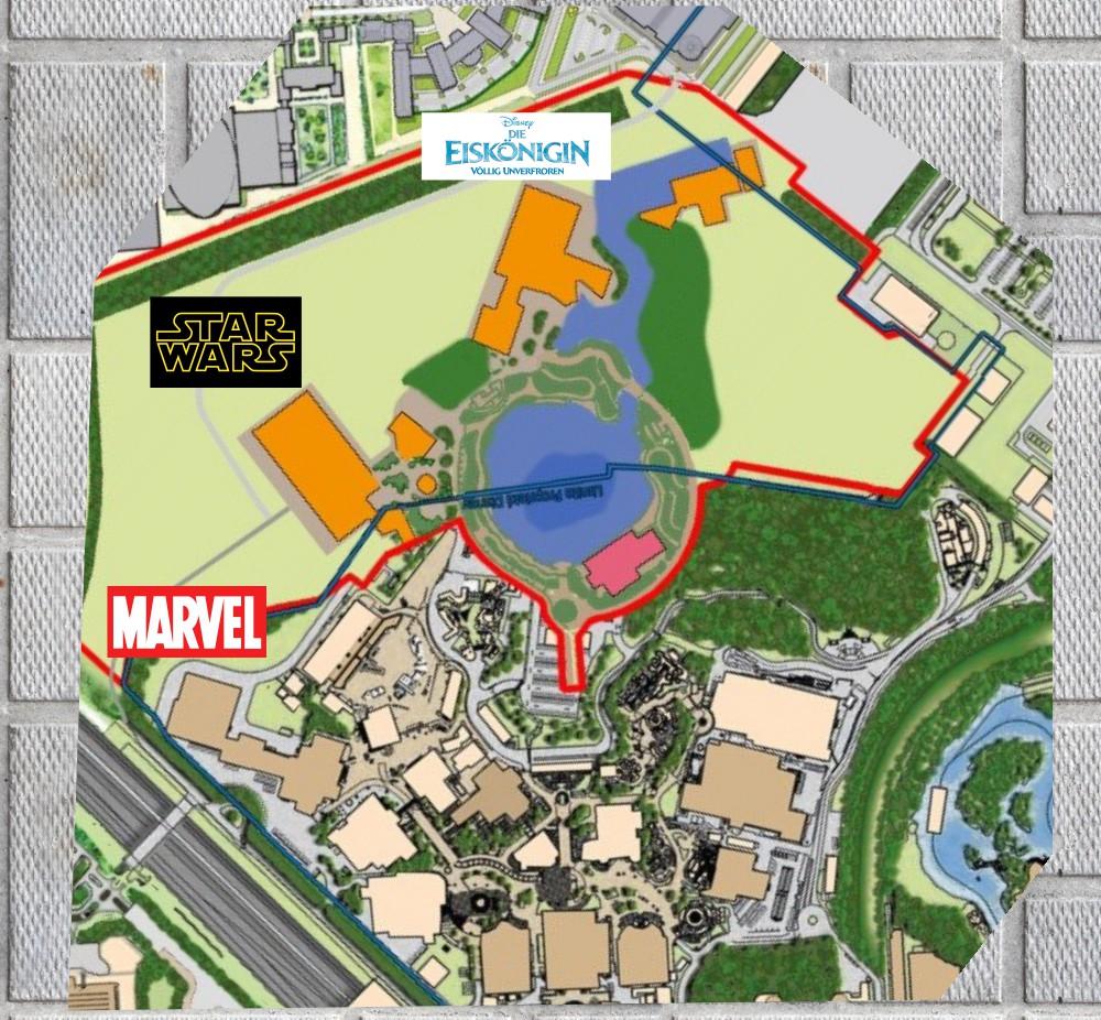 Walt Disney Studios Ausbau