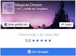 Magical-Dream - Deine Disneyland Paris Community auch bei Facebook