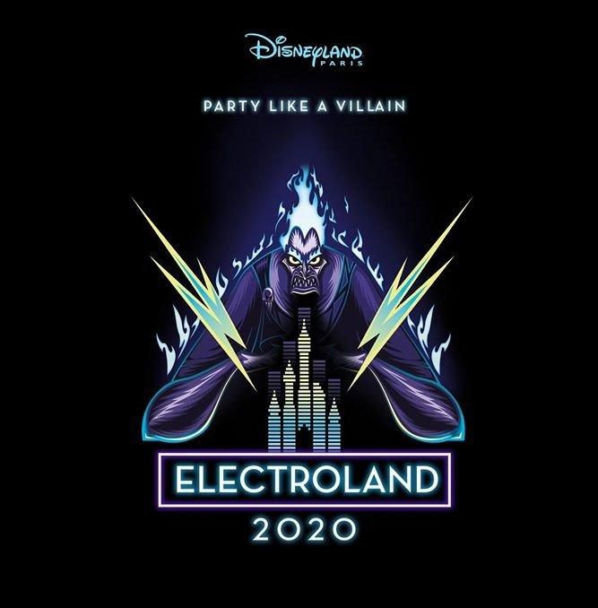 Electroland 2020 im Disneyland Paris
