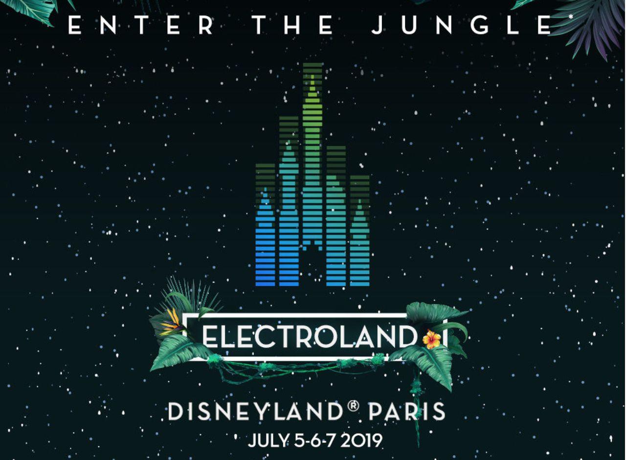 Electroland 2019 im Disneyland Paris