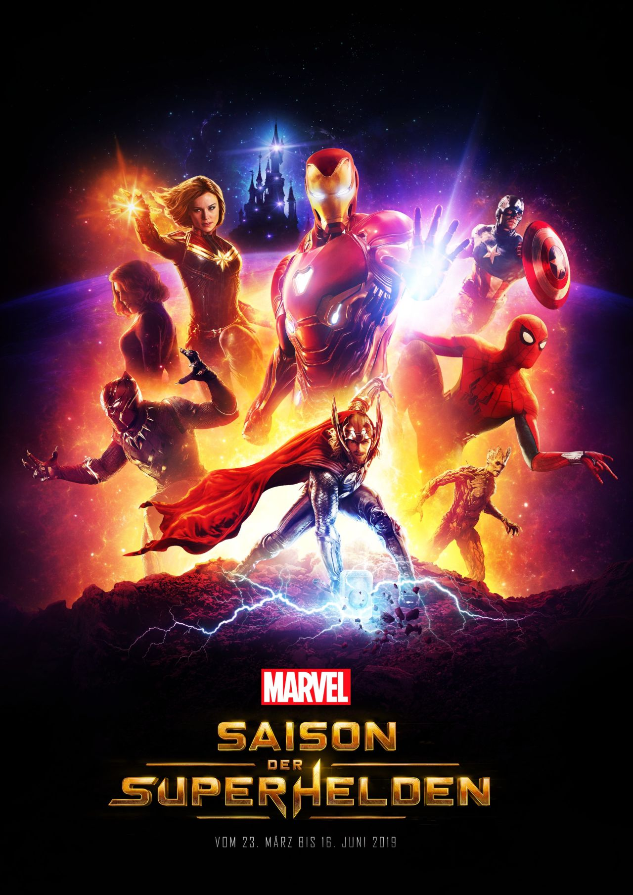 MARVEL Saison der Superhelden