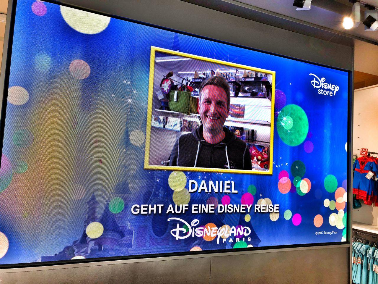 Disney Store Überraschung