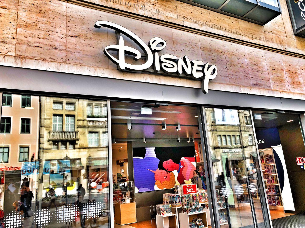 Disney Store München Außenansicht