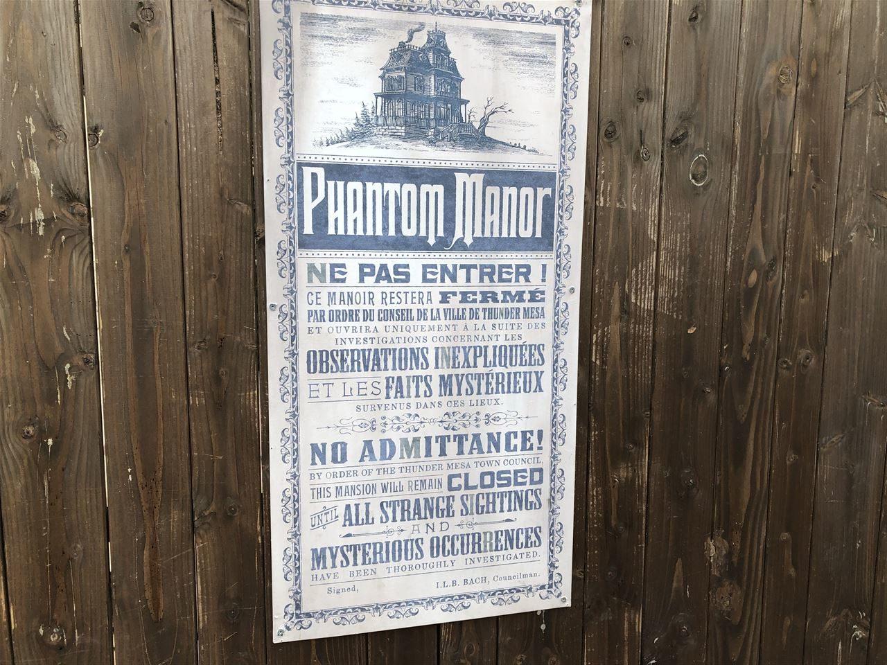 Die Geschichte von Thunder Mesa und Phantom Manor