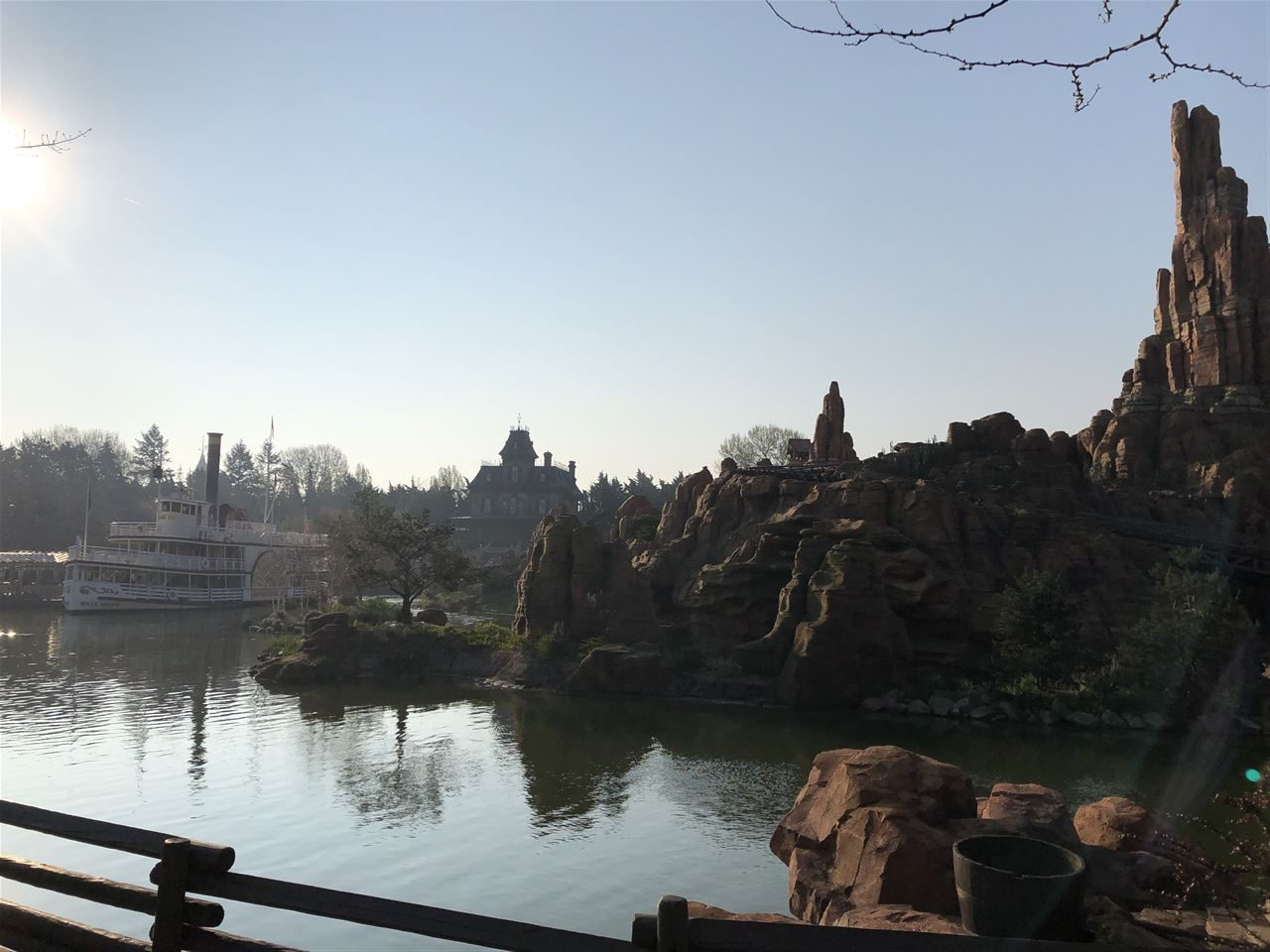 Disneyland Paris im April