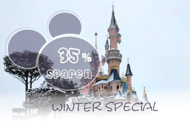 Disneyland Paris Pauschalangebote Winter