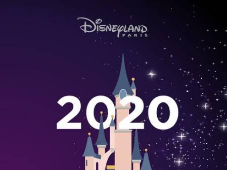 Das Jahr 2020 im Disneyland Paris
