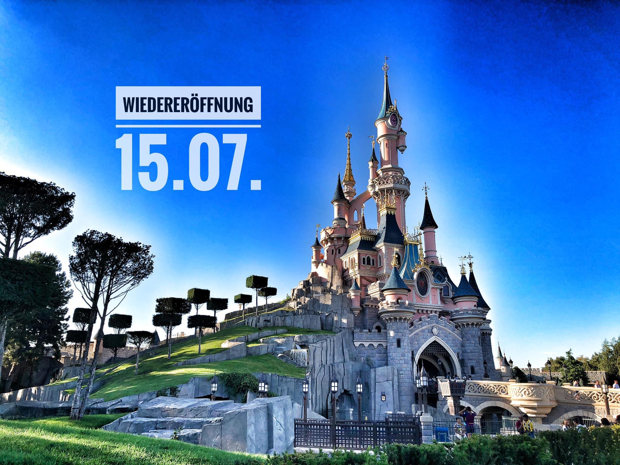 Disneyland Paris Wiedereröffnung
