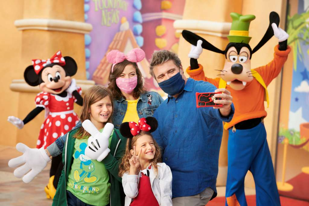 Disneyland Paris Buchung Selfies