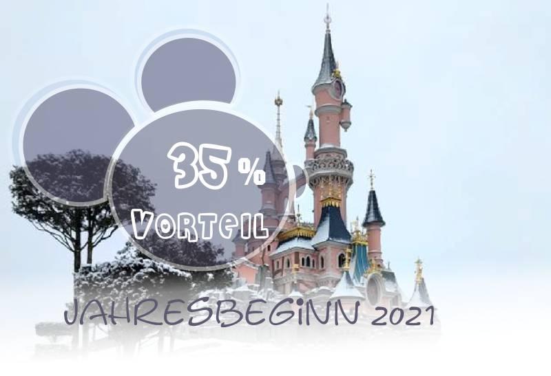 Disneyland Paris Pauschalangebote Frühjahr 2021