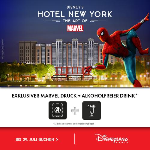 disneyland Paris Hotel new York Angebot