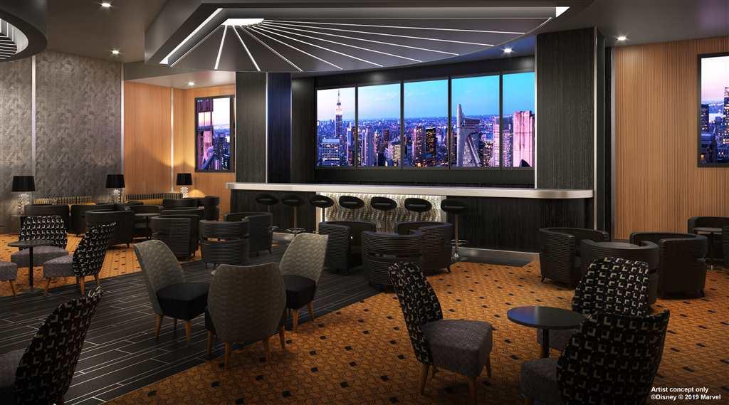 Hotel New York The Art of Marvel Bar