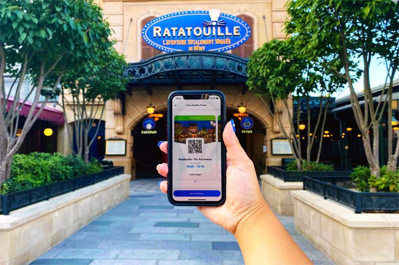 Disneyland Paris Standby Pass